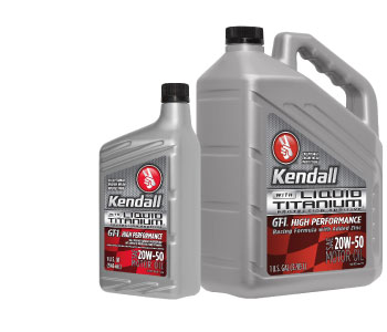 Kendall Motor Oil 20W50